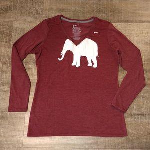 Nike University of Alabama Long Sleeve T-Shirt